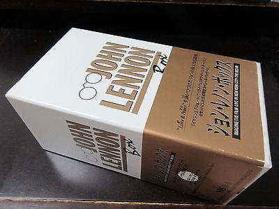 John Lennon Japan Triple Video Box Special Interview DBL CD NTSC Format Imagine