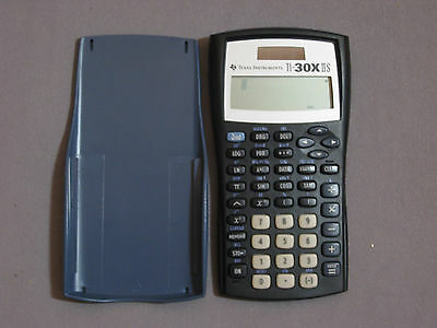 Texas Instruments TI-30XIIS Scientific Calculator (GREAT-EXCELLENT CONDITION)