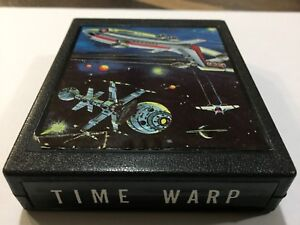 Atari 2600 TIME WARP GAME BY ZELLERS  (rare)