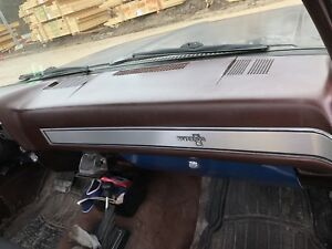 Mahogany color dash wanted for 1985 Chevy Sq body