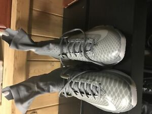 Nike Kevin durant kD 8 high Elite tumble Grey size 11