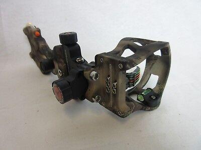 - Apex Gear Attitude 5 pin Sight Mathews Lost XD camo micro adjust