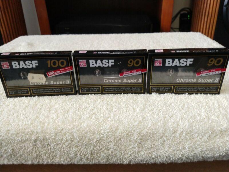 BASF Chrome Super II Type II Cassette Tape