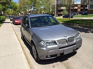 BMW X3 2007 3.0si M package fully loaded 147,000km