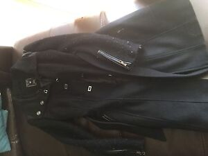 Guess? Long black trench