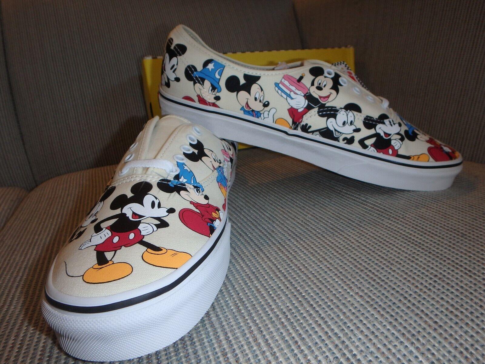 Vans X Disney Mickey s 90TH Birthday Shoes NIB Mickey Mouse