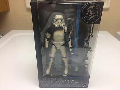 Star Wars Hasbro Black Series 6quot Inch Figure 01 Sandtrooper NEW SEALED