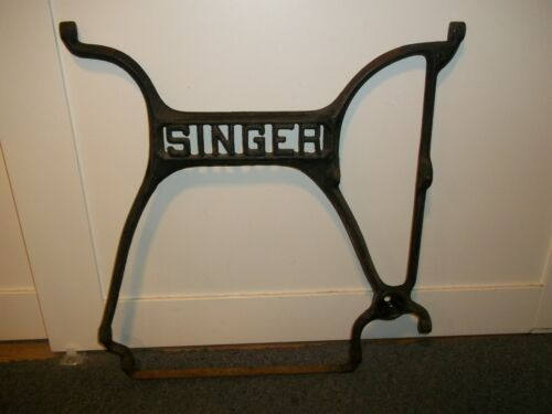 Antique Singer Treadle Sewing Machine Cast Iron Base Center Support Brace