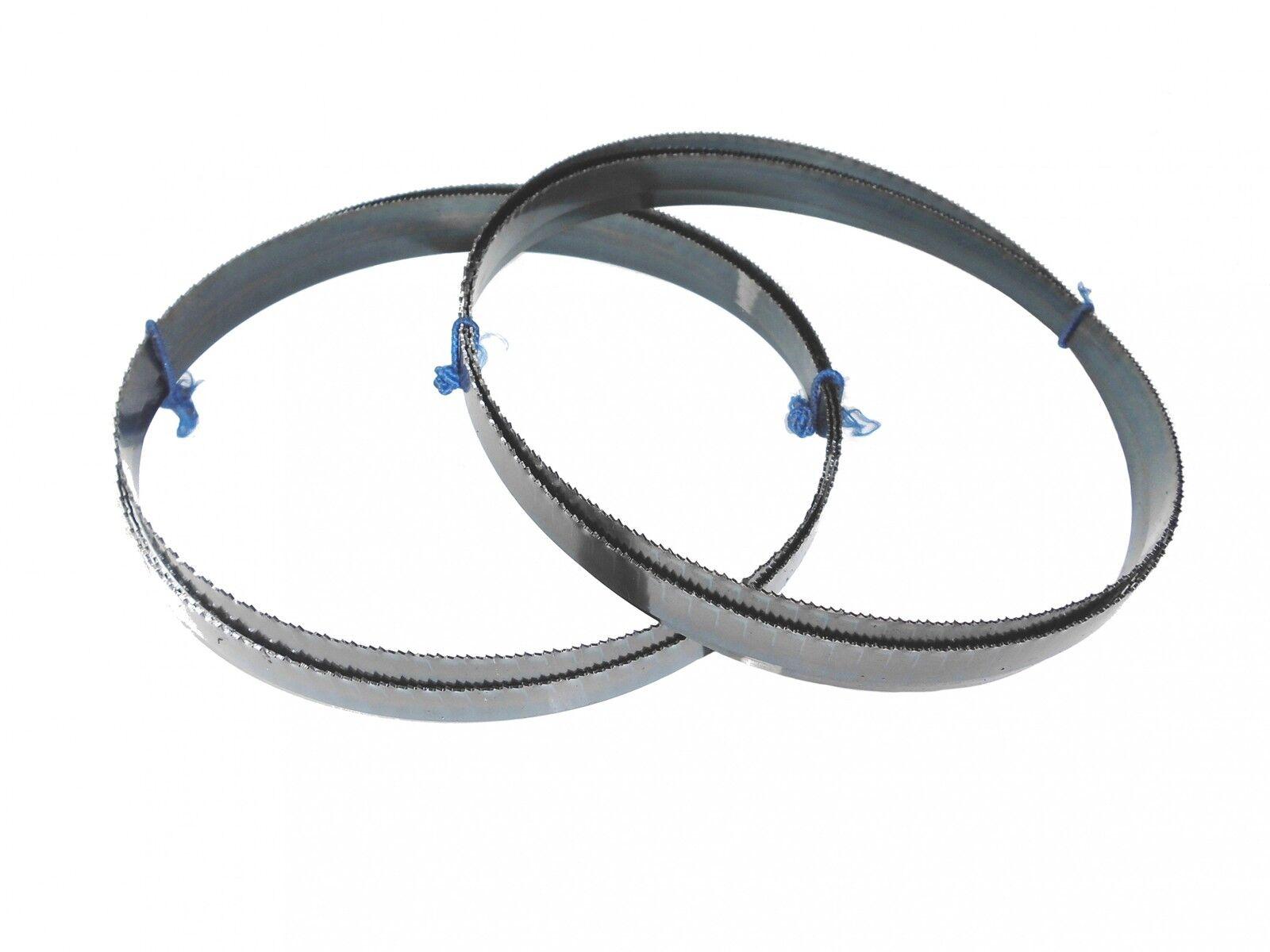 2 X Sägebänder Sägeband 1638 X 13 X 0,65 Mm 14 Zpz Metall Interkrenn Quantum