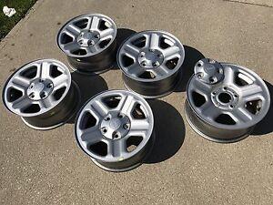 Jeep wrangler wheels rims 16 inch steel