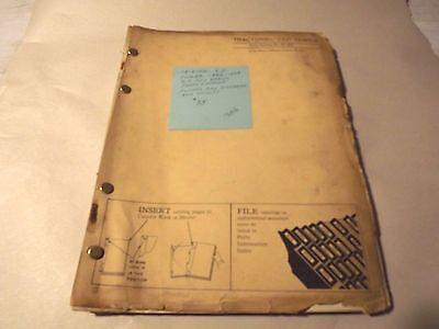 Original John Deere Dealer Parts Catalog  320 Series Standard Utility Parts