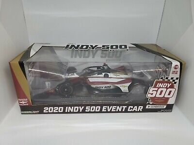2020 Indy 500 Die-cast Event Car 2020 Indycar Greenlight  1:18