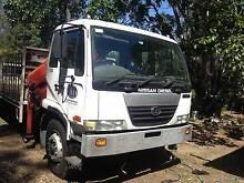 2005 UD PK245 Crane Truck with permanant work Park Ridge Logan Area Preview