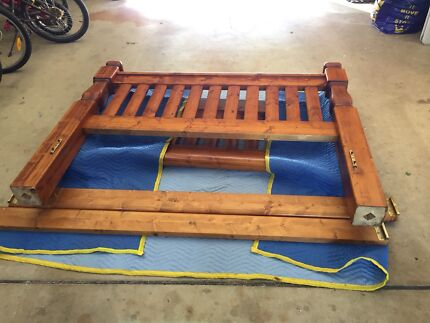Solid Timber Queen Bed Frame