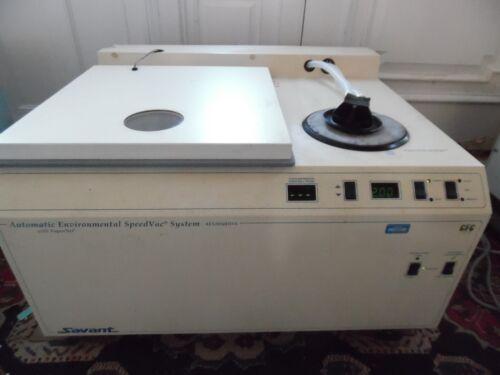Savant AES2050DDA-220  Automatic Environmental Speedvac  Vapornet &  Rotor