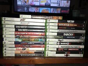 Xbox 360 games $10 each or 3 for $25