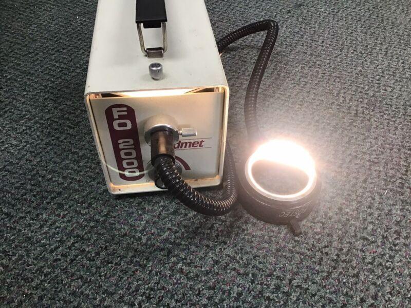 Cadmet FO-2000 150W Adjustable Fiber Optic Light Tested & Working