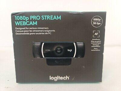 NEW Logitech Pro Stream 1080p Webcam Sealed Brand New in Box