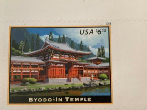 US 5257 BYODO-IN TEMPLE single MNH