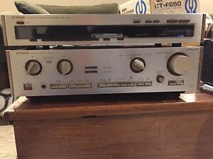 Luxman vintage L410 amplifier and tuner T240