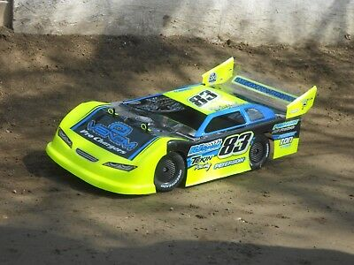 Atomic SCT Dirt oval, Fits Short Course Truck Traxxas Slash more sharkrc bodies