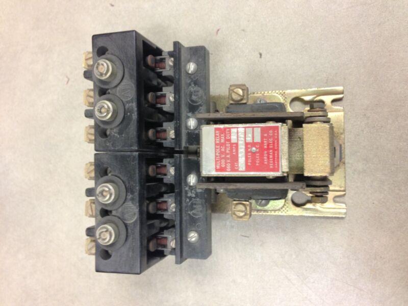 FMP-00-60-U Arrow Hart & Hegeman Contactor 6 Pole 110-120V Coil