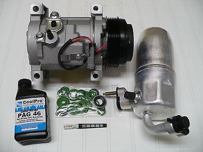 2005-2007 Chevrolet Silverado 3500 (6.6L Diesel) New A/C AC Compressor Kit