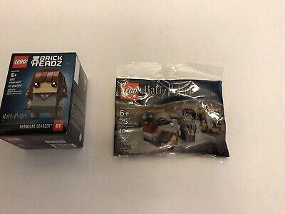 Lego Brickheadz Hermione Granger 41616 With Bonus Lego 30407 Harry's Journey