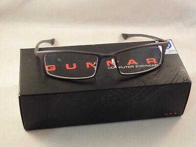 Gunnar Optiks Phenom Advanced Computer/Gaming Eyewear - Graphite - Crystalline