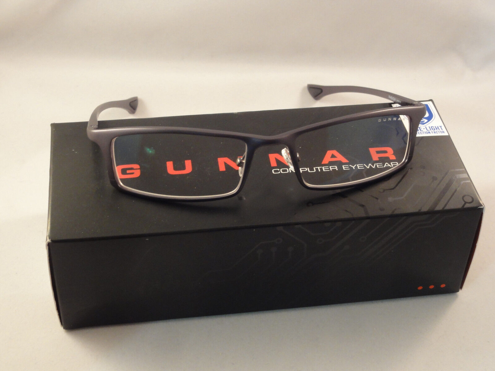 Gunnar Optiks Phenom Advanced Computer/Gaming Eyewear - Graphite - Crystalline