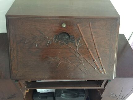 Antique Rosewood Writers Desk