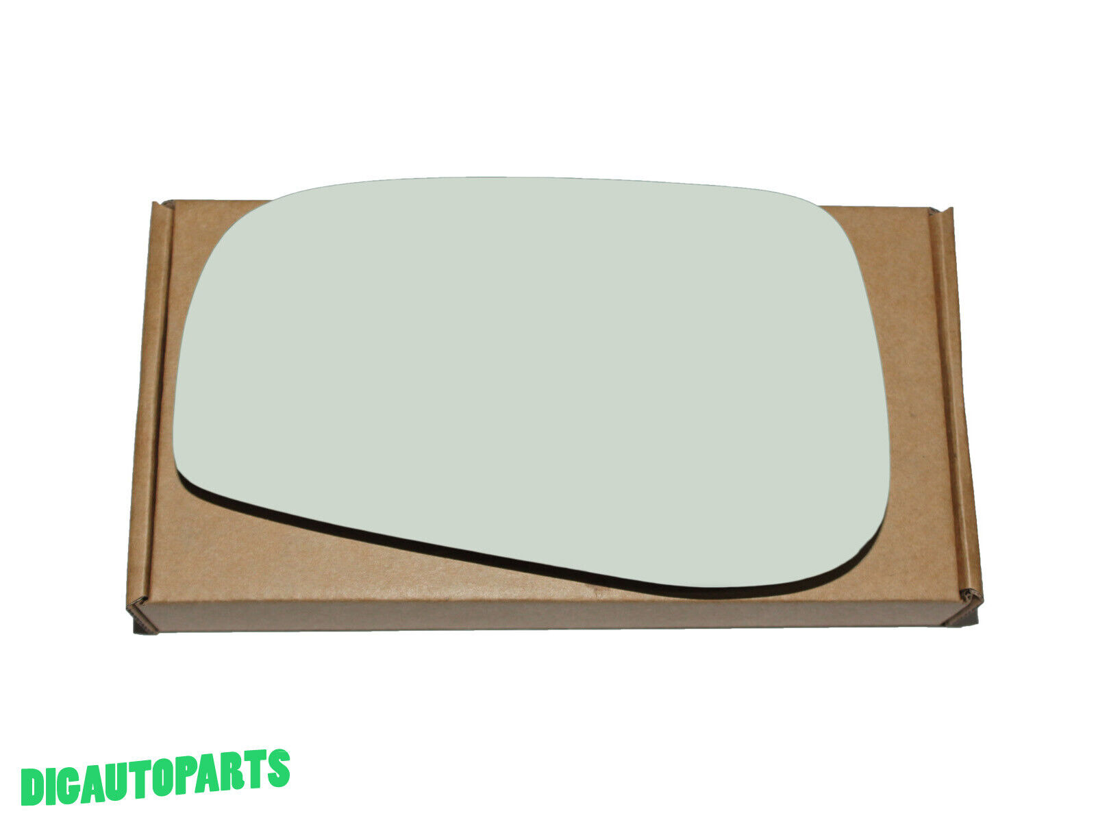 Burco 2267 Driver Side Manual Replacement Mirror Glass for Jeep TJ ...