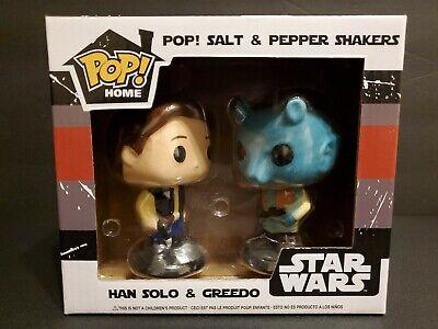 Funko POP! Home Han Solo & Greedo Salt/Pepper Shakers box slightly damaged