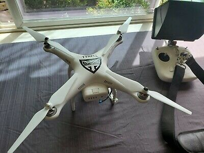 *HOT*  DJI Phantom 2 + Gimbal + GOPRO 3 Black + FPV Black Pearl *LOTS OF EXTRAS*
