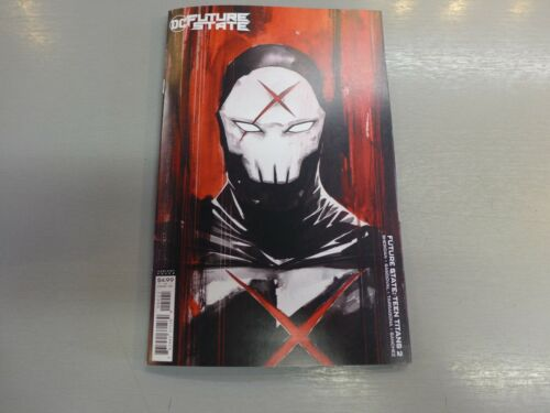 FUTURE STATE TEEN TITANS #2 NGUYEN CARD STOCK VARIANT DC COMICS RED X