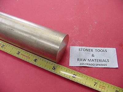 1-14 Od Brass C360 Round Bar 5 Length H02 Solid Rod New Lathe Bar Stock 1.25