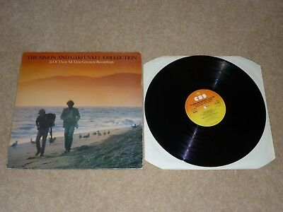 SIMON AND GARFUNKEL - 17 OF THEIR ALL TIME BEST VINYL ALBUM LP RECORD 33 EX / (Best Vinyl Albums Of All Time)