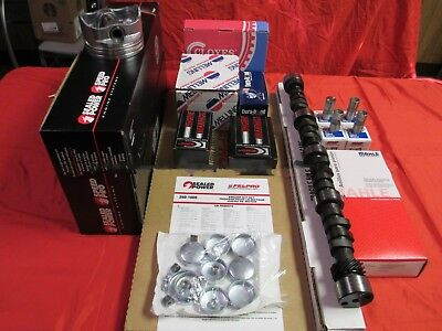 Buick 455 Performer Engine Kit Pistons+Rings+Oil Pump Comp Hi Energy 268H cam