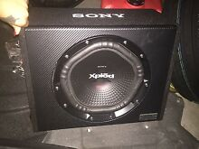 Sony subwoofer and box 1800w 12inch brand new never used East Maitland Maitland Area Preview