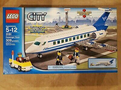 LEGO CITY Passenger Plane 3181 NEW in box