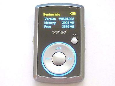 4 Gb Mp3 Sansa Clip (SanDisk Sansa Clip 4GB FM/MP3 Player Silver)