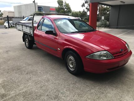 FOR SALE 2002 AU FORD UTE! AUTO! 3 SEATER DUAL FUEL RUNS & DRIVES WELL