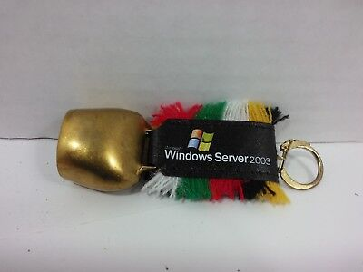 Microsoft Windows Server 2003 Launch Miniature Cowbell Keychain (approx. 3 in)](Cowbell Keychain)