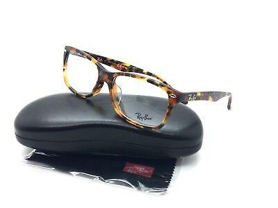 Ray Ban RB 5228F 5712 Havana Tortoise  / Demo Lens 55mm 17mm 140mm Eyeglasses