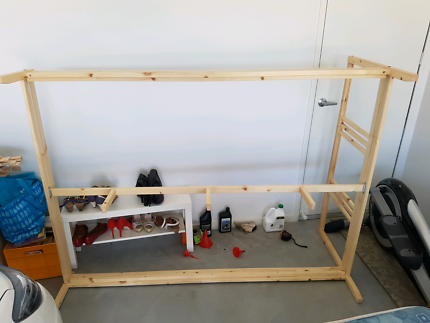 Double IKEA bed frame
