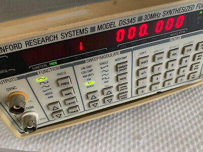 Stanford Research Systems Srs Ds345 30mhz Function Generator Option 001 002