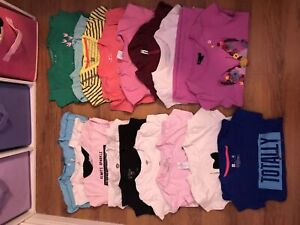 Girls size Medium T-shirt and jogging pant lot