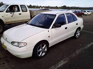 1998 Hyundai Excel Sedan Wingham Greater Taree Area Preview
