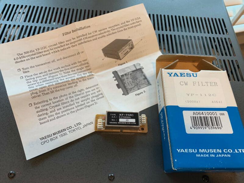 Yaesu YF-112C Filter - Rare