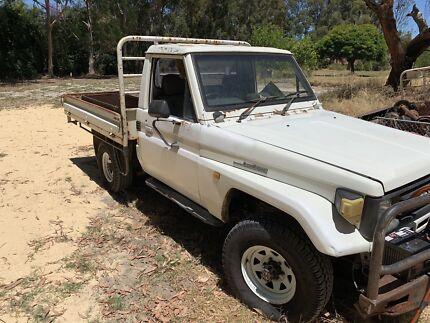 Toyota landcruiser fj 75 1990 unlicensed petrol Ellenbrook Swan Area Preview